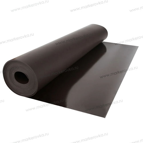Магнитный винил без покрытия - 0,62 x 30 м, толщина 0,4 мм - фото, описание, характеристики - магнитная пленка без клея, купить магнитный винил без покрытия - 0,62 x 30 м, толщиной 0,4 мм - Маркировка.ru